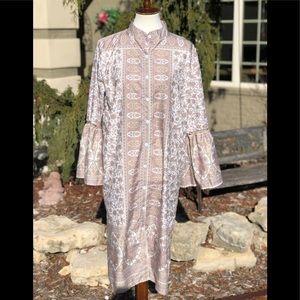 Misslook robe caftan bell sleeve lounge wear XL